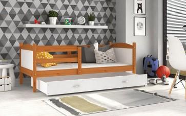 Éger / fehér gyerekágy ágyneműtartóval – Mateusz P.