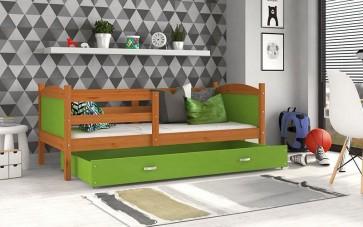 Éger / zöld gyerekágy ágyneműtartóval – Mateusz P.