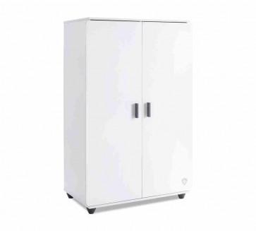 Fehér szekrény galériaágy alá – White