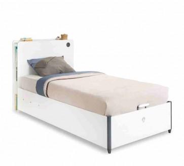 Ágyneműtartós gyerekágy (100x200) – White