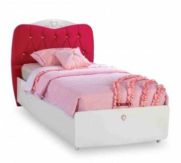 Ágyneműtartós ifjúsági ágy (100x200 cm) - Yakut