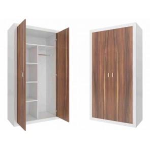 Kétajtós szekrény havanna barna - Filip