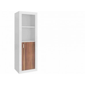 Keskeny könyvespolc (45 cm) havanna barna - Filip