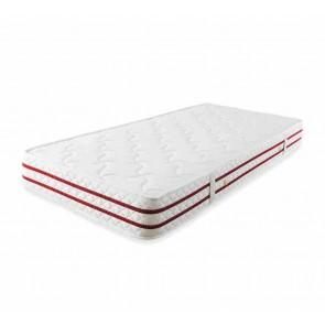Minőségi rugós matrac bambusz szálakkal gyerekágyhoz (90x200x19 cm)