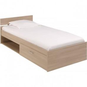 Gyerekágy ágyneműtartóval (90X200) - Akác