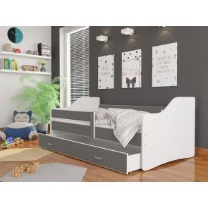 Fehér / szürke kanapé gyerekszobába – Sweety