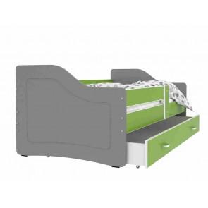 Szürke / zöld kanapé gyerekszobába – Sweety