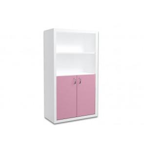 Keskeny könyvespolc gyerekszobába (rózsaszín) – Filip COLOR