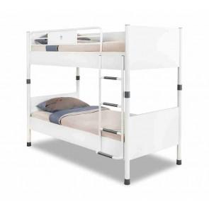 Fehér emeletes gyerekágy (90x200) – White